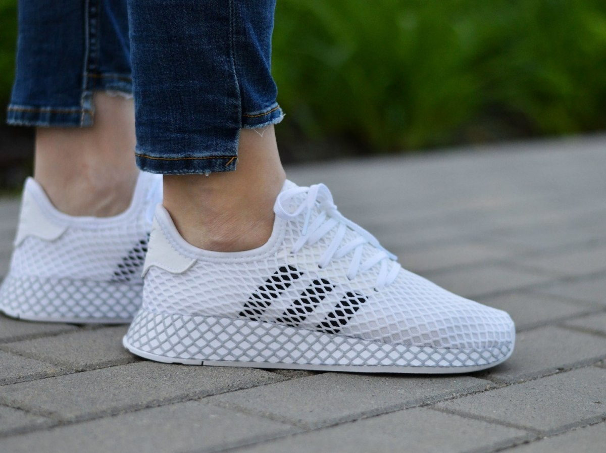 Details about Adidas Deerupt Runner J F34295 Junior/Women's Sneakers